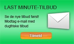 Sommerhus lastminute E-mail service