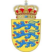 Kleines dänisches Staatswappen