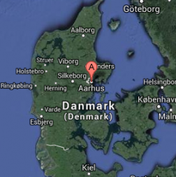 Århus, zweitgrößte Stadt Dänemarks