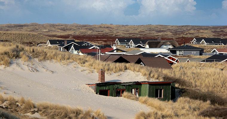 Ferienhaus von der Düne überrollt