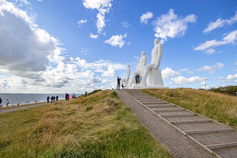 Der Mensch am Meer - Eines der Wahrzeichen von Esbjerg