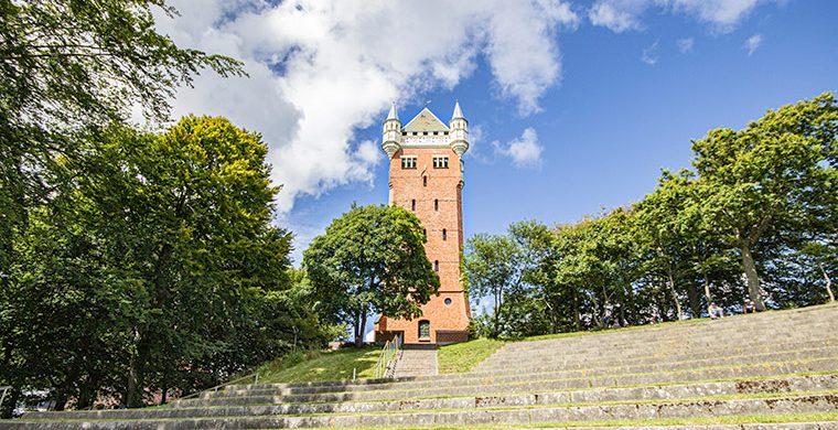 Esbjergs Wahrzeichen - Der Wasserturm - vandtarn
