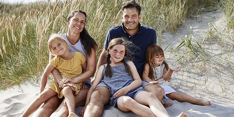 Der Urlaub mit der Familie muss einfach gelungen sein.
