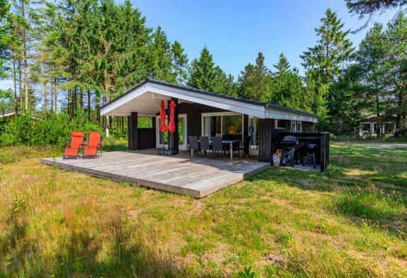 Richtig schönes und gemütliches Ferienhaus mit Kaminofen inHoustrup