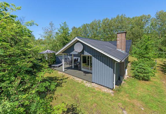 Gemütliches Holzhaus mit Sauna und Kamin
