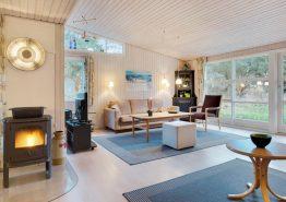 Idyllisches Holzhaus mit Sauna und Kaminofen (Bild 3)