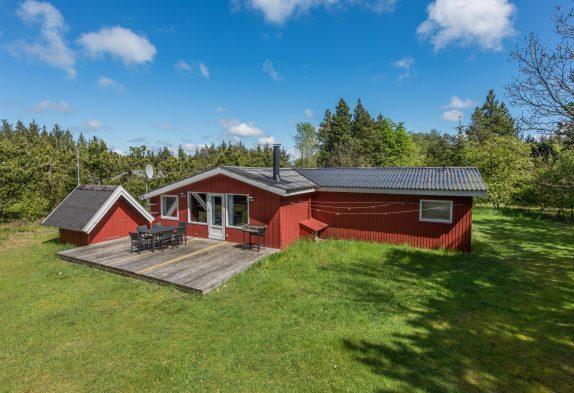 Schönes Sommerhaus mit Sauna und Whirlpool in idyllischer Lage
