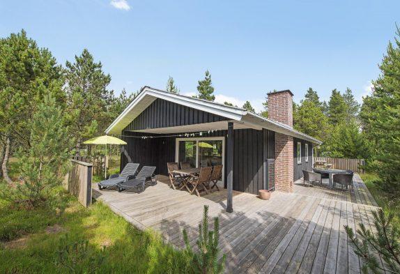 Charmantes Ferienhaus mit Sauna, wunderbar gelegen