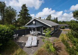 Typisch dänisches Holzhaus mit Kamin für 6 Personen. Kat. nr.:  30303, Sandtag 2;