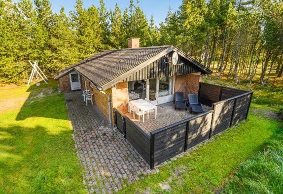 Helles, gemütliches Ferienhaus mit Sauna ungestört gelegen