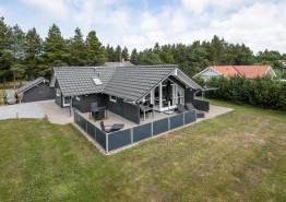Helles Ferienhaus in der Natur mit Whirlpool und Sauna. Kat. nr.:  30462, Guldvangen 38;