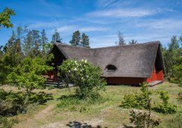 Stråtækt idyl i naturskønne Houstrup med sauna. Kat. nr.:  30482, Højsvej 3;