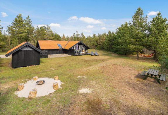 Helles und gemütliches Ferienhaus mit Sauna in ruhiger Umgebung