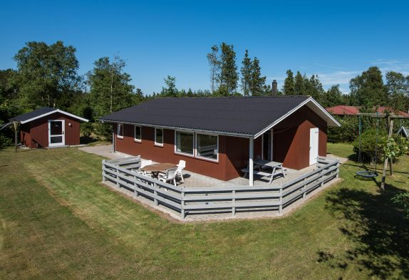Gemütliches Sommerhaus mit Sauna auf herrlichem Naturgrundstück