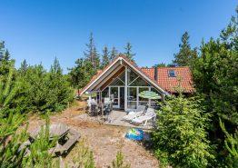 Schönes Holzferienhaus mit Sauna und Whirlpool und schöner Lage (Bild 1)