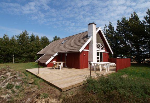 Gepflegtes Ferienhaus mit Sauna im ruhigen Houstrup