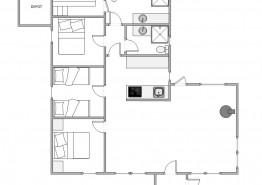 Gemütliches Ferienhaus für 6 Personen mit Sauna (Bild 2)