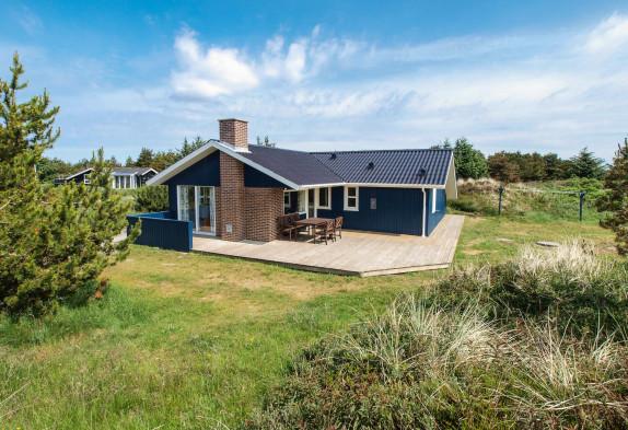 Hyggeligt feriehus til 6 personer med sauna