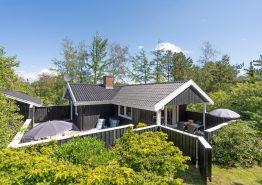 Gemütliches Holzferienhaus für 4 Personen mit Kaminofen