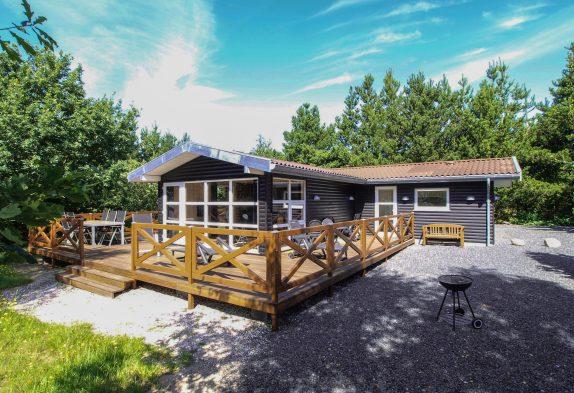 Gemütliches Ferienhaus mit Kaminofen auf herrlichem Naturgrundstück