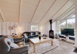 Hyggeligt feriehus i Henneby med sauna og spabad (billede 3)