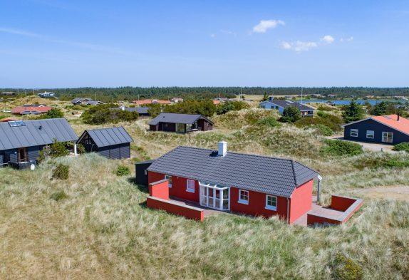 Skønt hus med spa og sauna på dejlig klitgrund