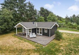 Lyst og hyggeligt sommerhus i Vejers med sauna og spa (billede 1)