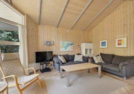 Lyst og hyggeligt sommerhus i Vejers med sauna og spa (billede 3)
