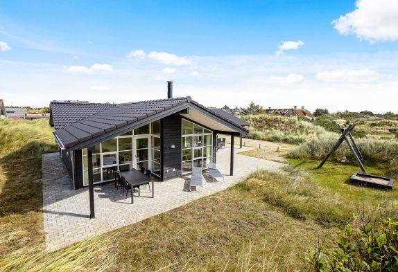 Helles und modernes Ferienhaus im Herzen von Vejers, Sauna und Whirlpool
