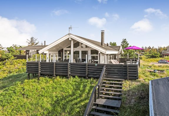 Holzhaus mit Sauna und moderner Ausstattung