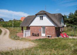 Gemütliches Reetdachhaus mit Kamin in toller Lage