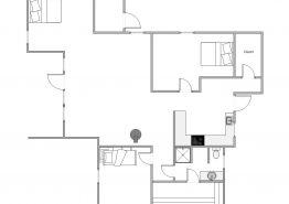 Hyggeligt familiehus med moderne indretning (billede 2)