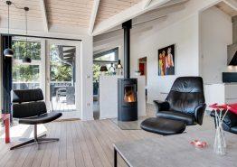 Lækkert kvalitetssommerhus med sauna, spa og aktivitetsrum (billede 3)