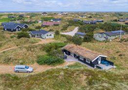 Gemütliches Holzhaus auf schönem Naturgrund an der Nordsee