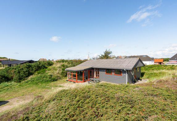 Charmantes Holzhaus nur 400 m vom Meer entfernt