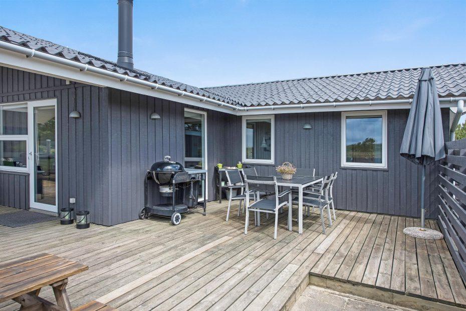 gem tliches ferienhaus mit s dwest terrasse sauna und. Black Bedroom Furniture Sets. Home Design Ideas