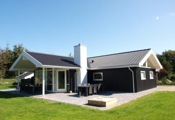 Luksussommerhus tæt på centrum med sauna, spa og aktivitetsrum