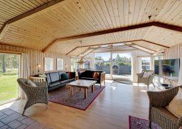 Hyggeligt feriehus med sauna og lækkert udeareal (billede 3)