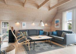 Stråtækt feriehus til 8 personer med sauna, spa og 2 hunde tilladt (billede 3)