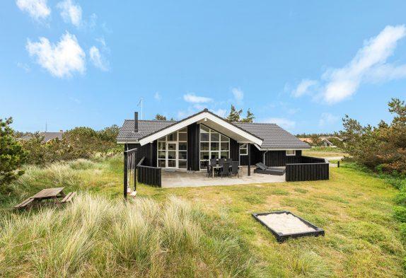 5-Sterne Luxushaus mit Whirlpool und Sauna, nur 200 m zum Strand