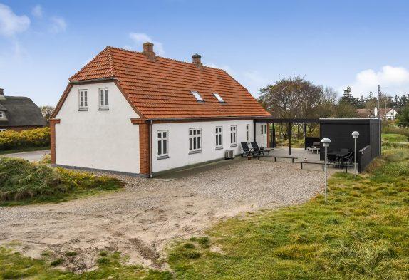 Renovierte Kapitänsvilla mit Meerblick, 2 Hunde