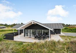 Luxusurlaub mit Whirlpool, Sauna und Aktivitätsraum in Blåvand