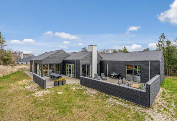 Individuelles Ferienhaus mit Whirlpool, Sauna und Aktivitätsraum