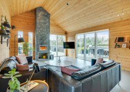 Lækkert feriehus i Blåvand med udendørsbruser, spa, sauna og aktivitetsrum (billede 3)