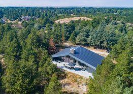 Stort feriehus i Blåvand med sauna, spa og aktivitetsrum