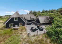 Schönes 4-Sterne-Haus mit Sauna in Strandnähe