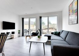 Moderne Doppelhaushälfte in zentraler Lage Blåvands (Bild 3)