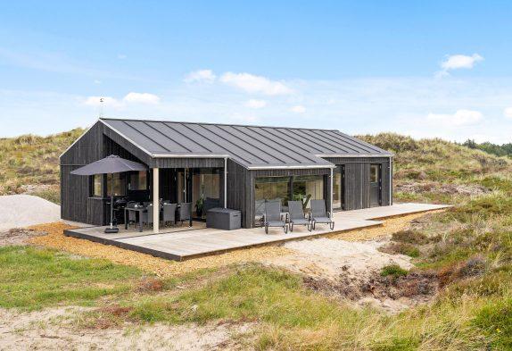 Modernes Ferienhaus mit Sauna, Whirlpool, 1 Hund