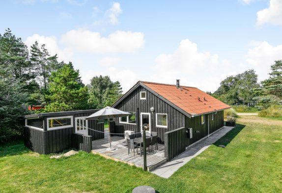 Gemütliches Ferienhaus mit Kamin im Grünen von Blåvand