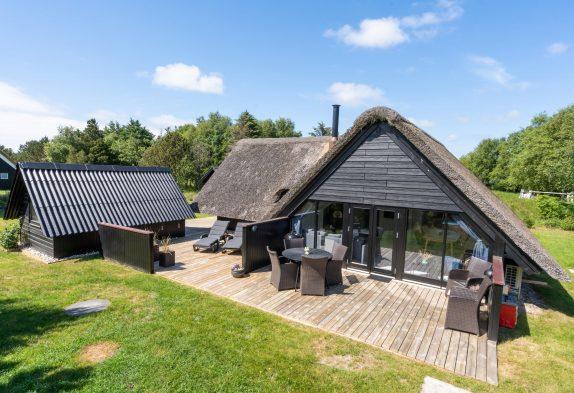 Ferienhaus für Familien in Blåvand mit Tischfussball